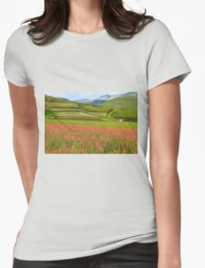 Fields  Womens Fitted T-Shirt
