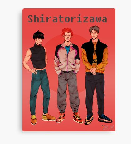 Shiratorizawa 90s Canvas Print