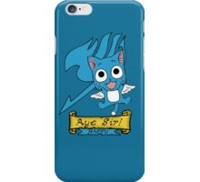 "Fairy Tail: Happy ""Aye Sir"" iPhone Case/Skin"