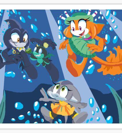 Sonic Razor Pearly Coral Sticker
