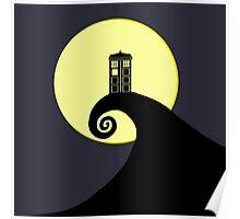 Tardis Nightmare Poster