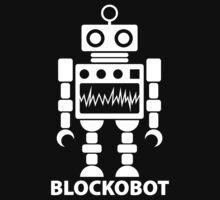 BLOCKOBOT (white) by jodalry