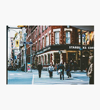 The Corner of Monday and Morning Photographic Print
