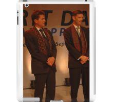 AXA CEO-Henri de Castries and AXA Asia Life CEO-Michael S. Bishop  iPad Case/Skin