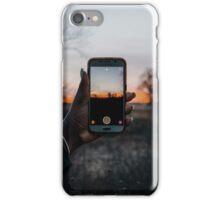 A Modern Sunset iPhone Case/Skin