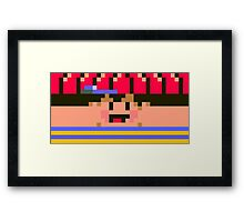 Ness Face Framed Print