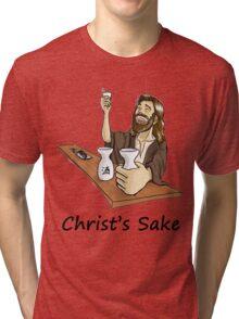 Christ's Sake Tri-blend T-Shirt
