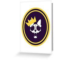 Murder Monarch (jaunty) Greeting Card