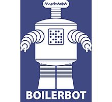 BOILERBOT (white) Photographic Print