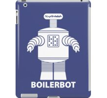 BOILERBOT (white) iPad Case/Skin