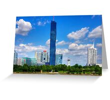DC Tower 1 Greeting Card