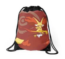 Delphox Pokémon Collection Drawstring Bag
