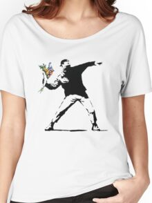 Banksy Women's Relaxed Fit T-Shirt