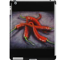 chili pile up iPad Case/Skin