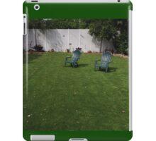 Lawn Chairs iPad Case/Skin