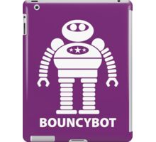BOUNCYBOT (white) iPad Case/Skin