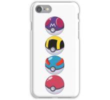 Pokeball Pattern iPhone Case/Skin