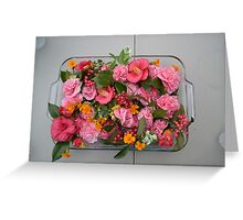 Southern Flowers Greeting Card