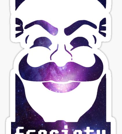 Mr robot fsociety sticker Sticker