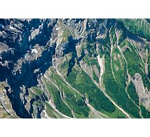 Scree Slopes Photographic Print