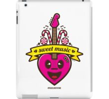 Sweet Music Vector iPad Case/Skin