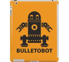 BULLETOBOT (black)  iPad Case/Skin