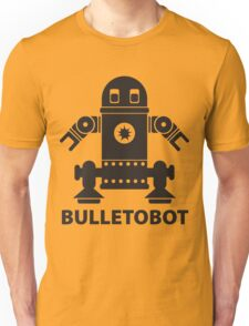 BULLETOBOT (black)  Unisex T-Shirt
