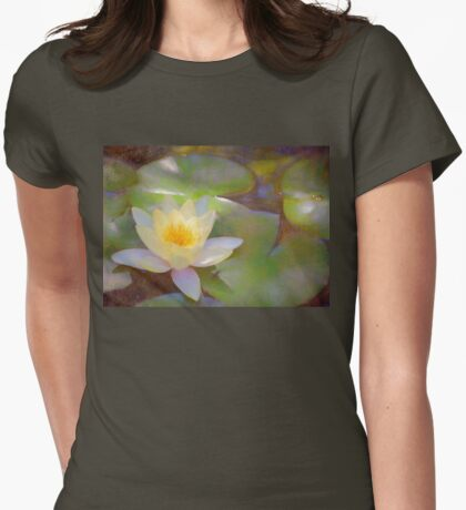 Pond Lily 35 Womens Fitted T-Shirt