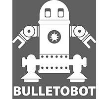 BULLETOBOT (white) Photographic Print