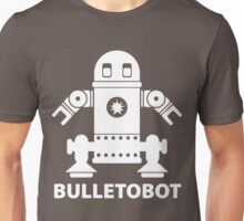 BULLETOBOT (white) Unisex T-Shirt