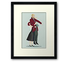 This counts, right? (remastered) Framed Print