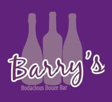 Barry's Bodacious Booze Bar by NaranjaElPesca