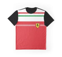 Ferrari Minimalist Italian stripes Graphic T-Shirt