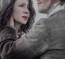 Outlander Claire & Jamie  Sticker