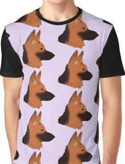 German Shepherd Graphic T-Shirt
