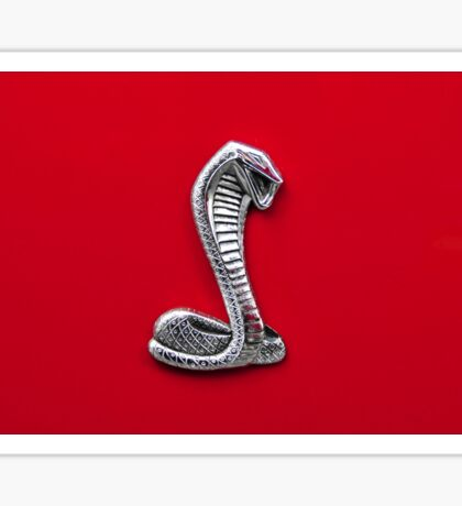 Cobra Mustang Sticker