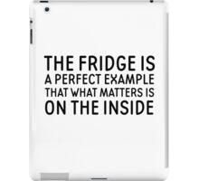 Food Humor Funny Quote Random iPad Case/Skin
