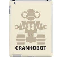 CRANKOBOT (tan) iPad Case/Skin