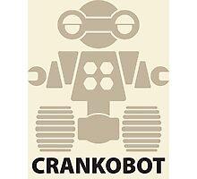 CRANKOBOT (tan) Photographic Print