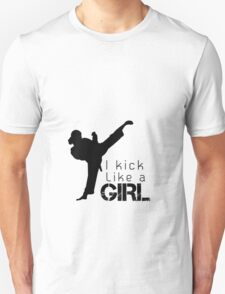 Kick Like a Girl Unisex T-Shirt