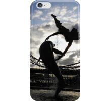 GIRL WITH DOLPHIN iPhone Case/Skin