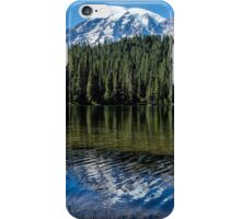 Ripples and Reflection, Mt. Rainier iPhone Case/Skin