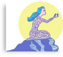 Virgo zodiac sign. Canvas Print