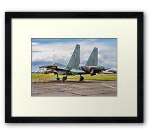 "Sukhoi Su-30MKI ""Flanker-F"" SB309 Framed Print"
