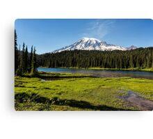 Mt Rainier from Reflection Lake, No. 1 Canvas Print