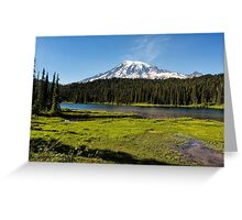 Mt Rainier from Reflection Lake, No. 1 Greeting Card
