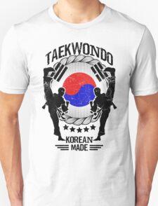 taekwondo korean made martial art sport kick shirt Unisex T-Shirt