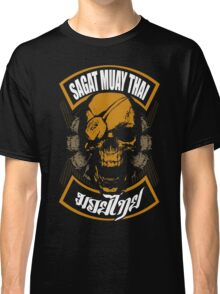 Sagat Muay Thai Fighter  Thailand Martial Art Classic T-Shirt