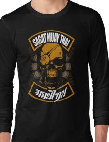 Sagat Muay Thai Fighter  Thailand Martial Art Long Sleeve T-Shirt