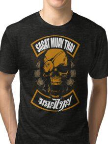 Sagat Muay Thai Fighter  Thailand Martial Art Tri-blend T-Shirt